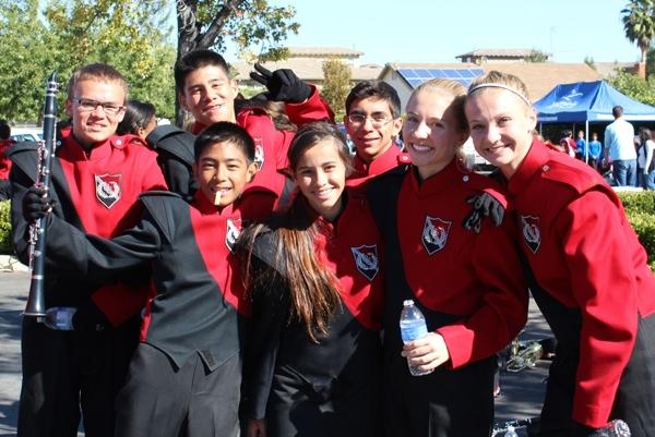 Murrieta Valley High School Crimson Cadets Marching Band