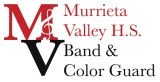 Murrieta Valley High School Band and Color Guard